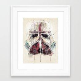 Framed Art Print - retro trooper - bri.buckley
