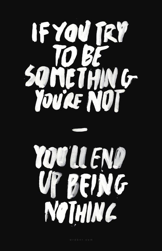 Being Nothing Art Print