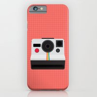 iPhone & iPod Case featuring Polaroid One Step Land Camera by mydeardear