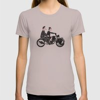 Eames Womens Fitted Tee Cinder SMALL