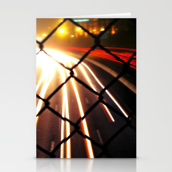 Streaming Light Stationery Card