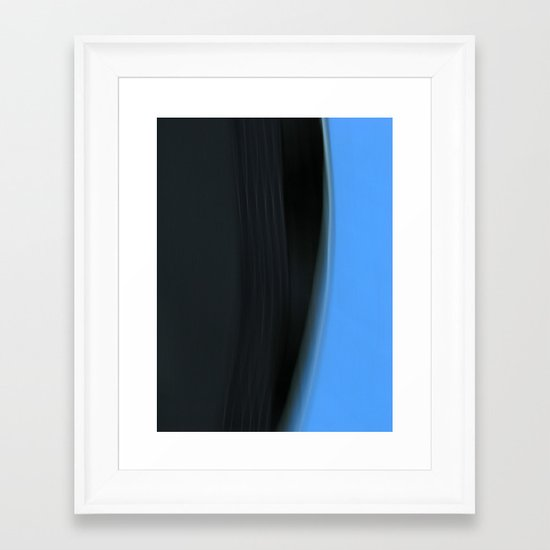 Time & Tide #4 Framed Art Print