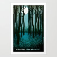Transfigured Night - Verklarte Nacht  - Schoenberg Art Print