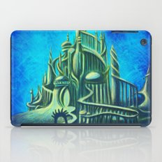 Mysterious Fathoms Below iPad Case