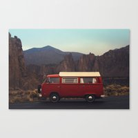 Doris At Smith Rock Canvas Print