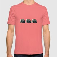 Old Street That Vanishes Mens Fitted Tee Pomegranate SMALL