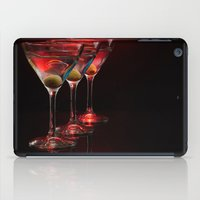 Red Hot Martinis. iPad Case