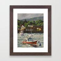 Bass Harbor, Maine Framed Art Print