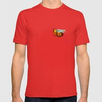 I'm Pushing Up My Daisie… Mens Fitted Tee Red SMALL