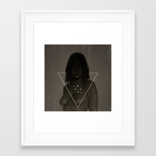 Gravastar.  Framed Art Print