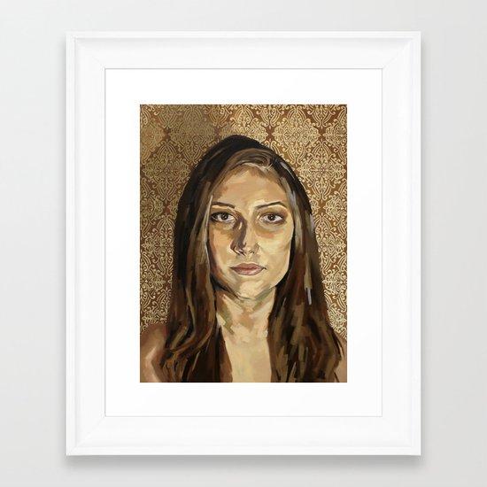 Symmetry #6 Framed Art Print