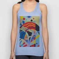 Graphic Abstraction 3 Unisex Tank Top