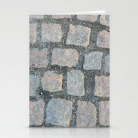 Cobble Stone City Stationery Cards
