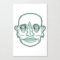 PUNK MONK Canvas Print