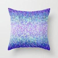 Glitter Graphic Background G105 Throw Pillow