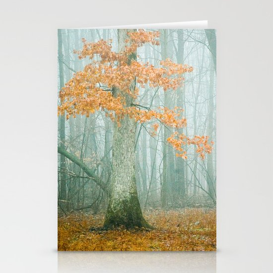 Autumn Woods Stationery Card