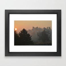 Before the Snows Framed Art Print