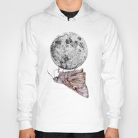 In which a moth is enticed by the light of the moon Hoody