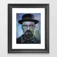 Heisenberg, Say My Name! Framed Art Print