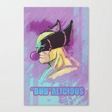 BUBalicious Wolverine Canvas Print