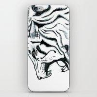 Let Him Roar iPhone & iPod Skin
