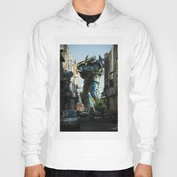 Mech behind a back alley Hoody