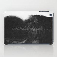 WANDERLUST. iPad Case