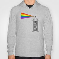 Happiness Spray Can - Rainbow Hoody