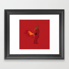 Chilli Framed Art Print