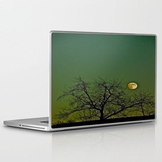 Tangled Tree Moon Laptop & iPad Skin