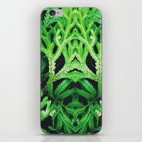 50 Shades of Green (4) iPhone & iPod Skin