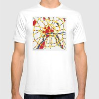 BOOGIE WOOGIE MOSCOW Mens Fitted Tee White SMALL