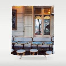 Montmartre details. Shower Curtain