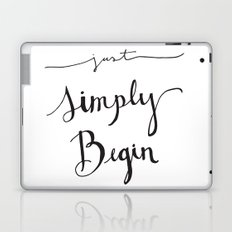 Simply Begin Laptop & iPad Skin