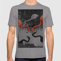 Matthew Cole Photography Mens Fitted Tee Athletic Grey SMALL