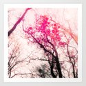 Tree Silhouette 2 Art Print