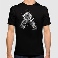 Sideswipe Vanguard Mens Fitted Tee Black SMALL
