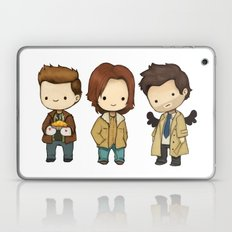 Chibi Dean Sam Castiel Supernatural Laptop & iPad Skin