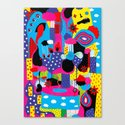 Some Things Are Better Left Unexplained  Canvas Print