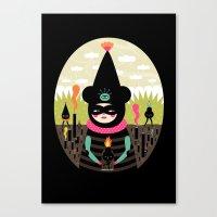 Mimu & The Fireboy Canvas Print