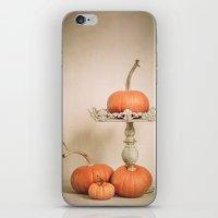Autumn Pumpkin iPhone & iPod Skin