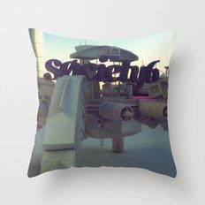 Society6 SAFE TRANSPORT Throw Pillow