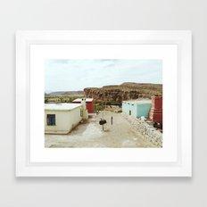 Boquillas del Carmen Framed Art Print