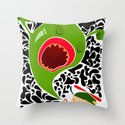 Blow for Kids Throw Pillow