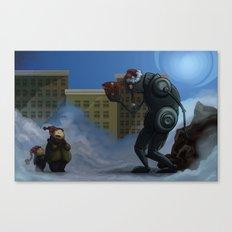 Robots Aint Scary Canvas Print