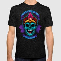 Jambi Skull Mens Fitted Tee Tri-Black SMALL