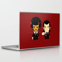 pulp fiction Laptop & iPad Skins featuring pulp fiction by sEndro