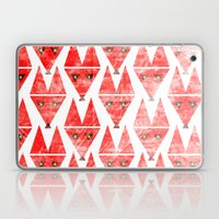 Foxy Pattern Laptop & iPad Skin