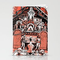 Sea of Red: Judgement Stationery Cards