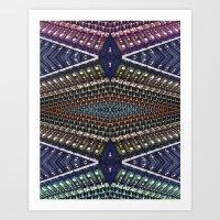 Mixer Matrix  Art Print